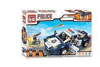 Конструктор Brick Полиция Перестрелка на дороге