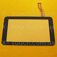 Тачскрин, сенсор  NJG070090CGGLB-V1 черный для планшета, фото 1