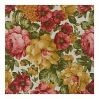 Ткань для штор в стиле прованс цветы