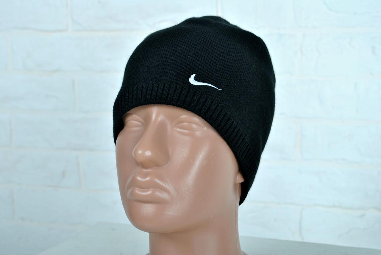 55d91af9 Мужская шапка найк (Nike) черная, утепленная реплика: продажа, цена ...