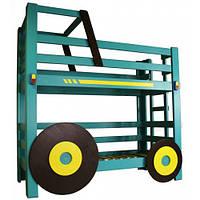 Двухъярусная кровать «Трактор»