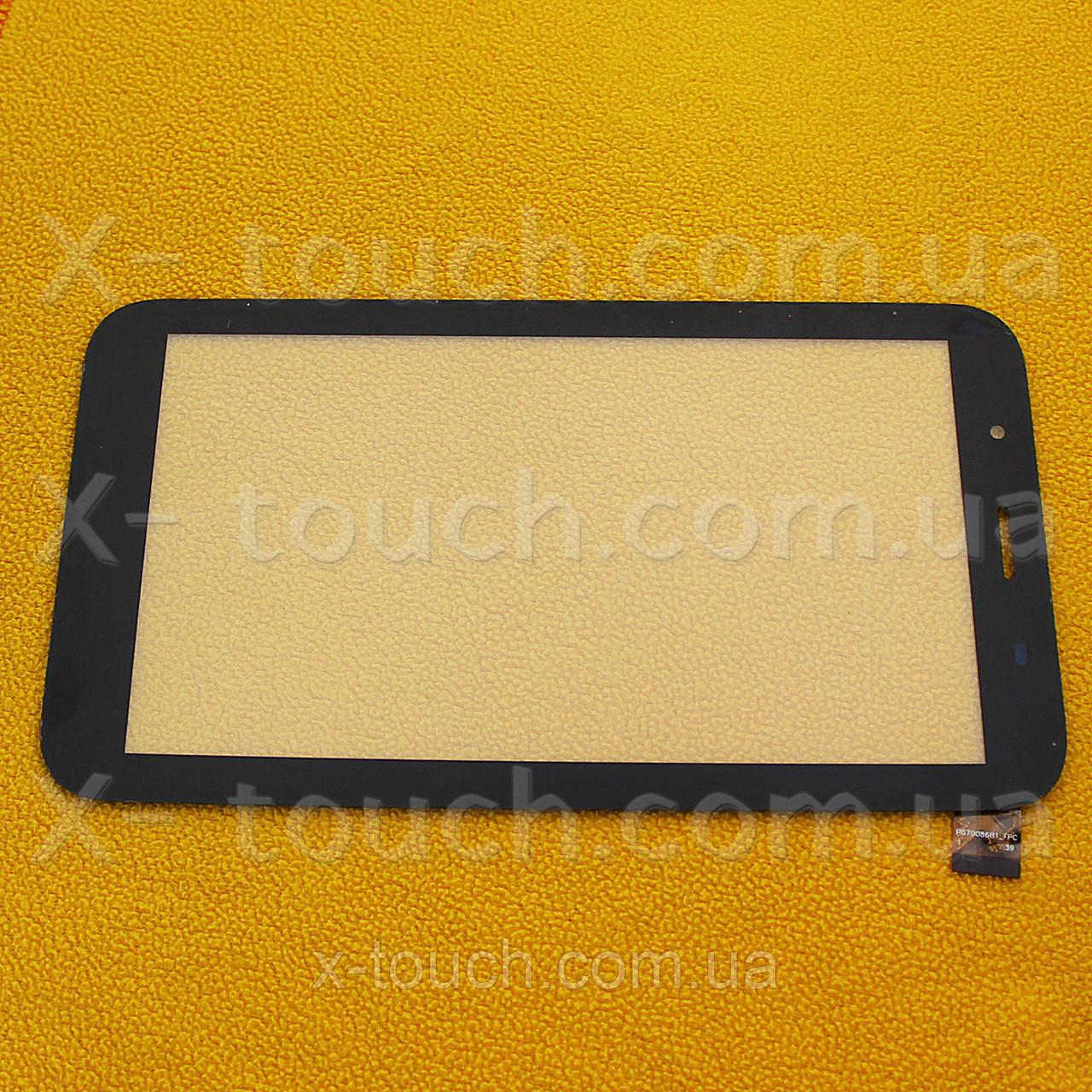 Тачскрин, сенсор  LT70039E1-FPC черный для планшета