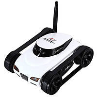 (+ПОДАРОК 3)  Танк-шпион WiFi Happy Cow I-Spy Mini с камерой