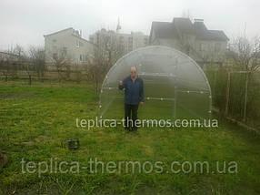 Секция на теплицу «Thermos 3*6» из квадратного профиля,поликарбонат 4мм, фото 3