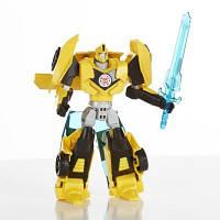 """Игрушка трансформер  Бамблби """"Роботы под прикрытием"""" - Bumblebee Warriors 14см"""