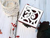 Шкатулка №1 с резной крышкой заготовка для декора