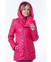 Демисезонная куртка женская модель №14 малина, Размер 42-52