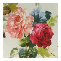 Тканина для штор з трояндами у стилі прованс