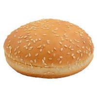 Булочка для гамбургера молочная с кунжутом 60г (36шт.)