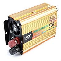 Преобразователь авто инвертор UKC 24V-220V 500W