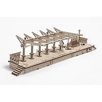Перрон механический 3д пазл(деревянный)