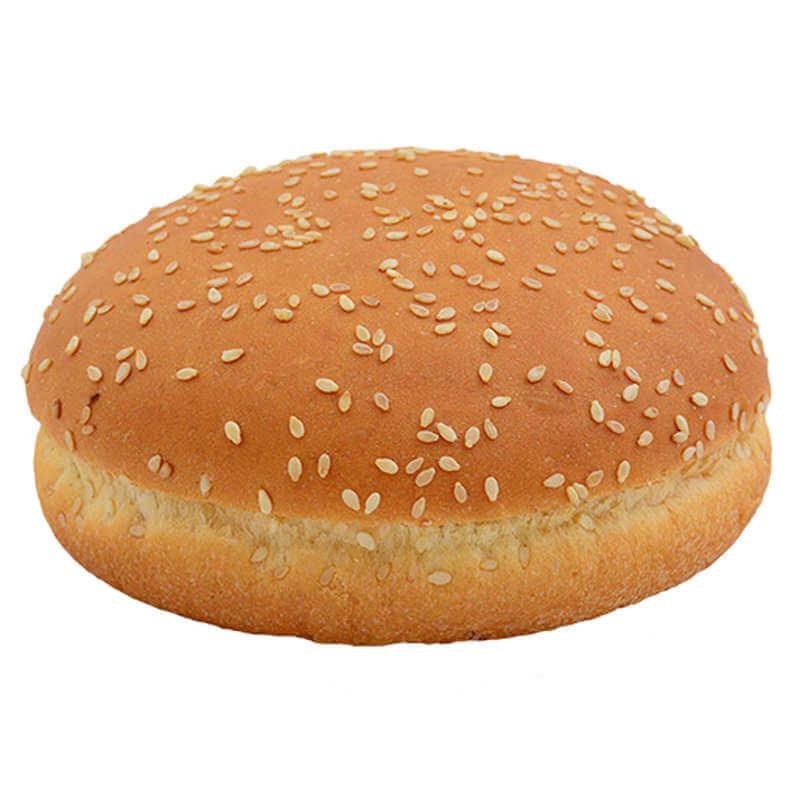 Булочка для гамбургера пшеничная с кунжутом 70г.   (27шт)80г,. 10см (33шт.)