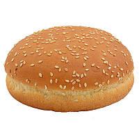 Булочка для гамбургера пшеничная с кунжутом 50г 10см (48шт.)