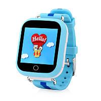 Умные часы Smart Baby Watch Q100s(GW200s) Blue GPS,Wifi,Вибро