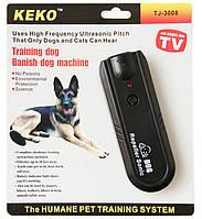 Эффективный отпугивать собак DRIVE DOG TJ 3008, дальность 12м, уровень давления 110дБ, крона 9В