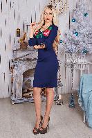 Платье женское с вышивкой 483