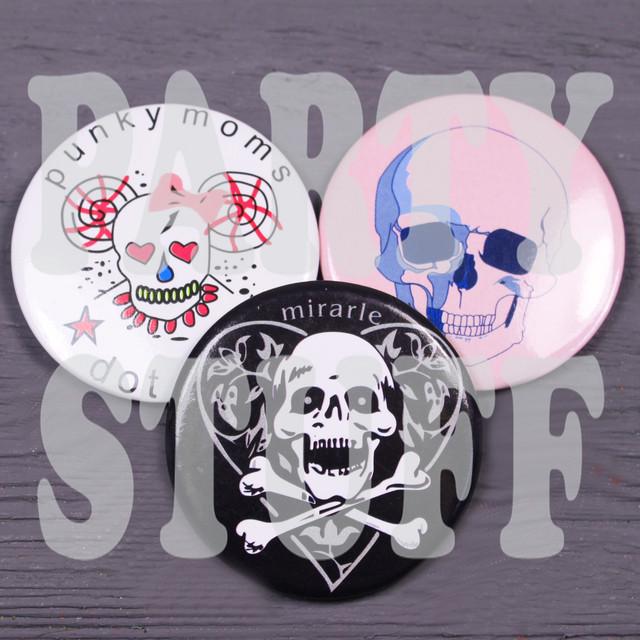 Сувенирные значки череп