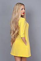 Платье молодежное 237-7 желтый
