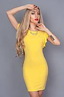 Платье летнее 241-4 желтый