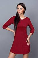 Платье молодежное 237-19 красное , фото 1