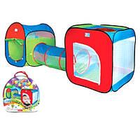 Детская игровая палатка Bambi с тоннелем М 2503