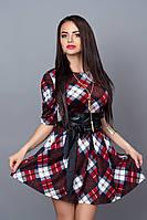 Платье женское 373-17 коричневый