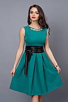 Платье модель 386 - 9 бирюза