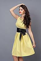 Платье модель 386 - 10  желтый