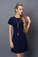 Платье летнее 495-5 темно-синий, фото 1
