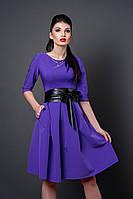Платье женское 381-10 фиолетовый
