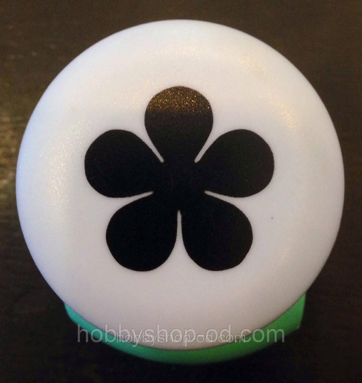 Дырокол фигурный Цветок кнопка 2,5 см