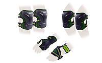 Защита для роликов детская ZELART зеленый