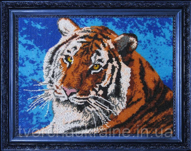 """Набор для вышивки бисером """"Тигр"""""""
