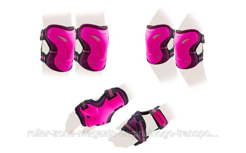 Защита для роликов детская ZELART розовый