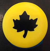 Дырокол фигурный Лист клена кнопка 2,5 см