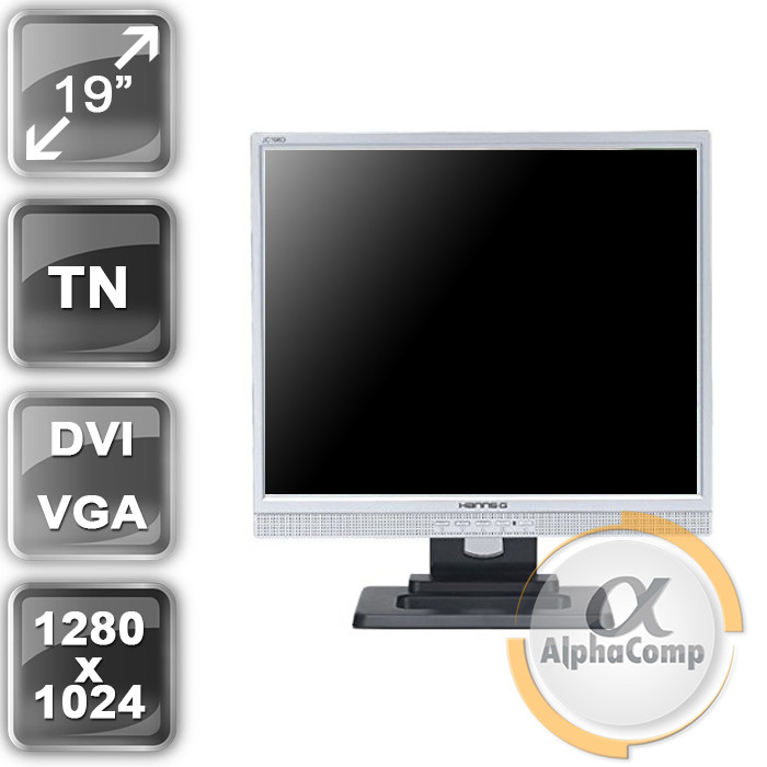 "Монитор 19"" Hanns JC198D (TN/4:3/VGA/DVI) class A БУ"
