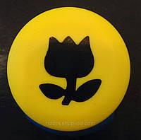 Дырокол фигурный Тюльпан кнопка 2,5 см