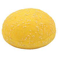 Булочка для гамбургера тыквенная с кунжутом 75г (36шт.)