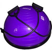 Балансировочная платформа Power System Balance Ball Set (PS-4023) Violet