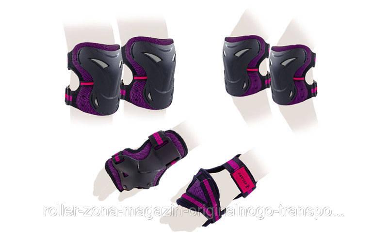 Защита для роликов детская ZELART фиолетовый, фото 1