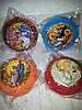 Новогодние шары медаль религия-4шт
