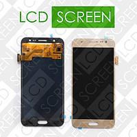Модуль для телефона Samsung J5 J500 J500H J500F J500G J500Y J500M, золотистый, дисплей + тачскрин