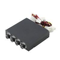 Панель управления Gembird FSCP-2 управления скоростью 4-х вентиляторов