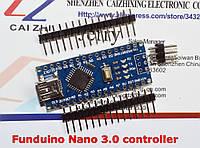 Arduino ATMEGA328 Funduino Nano 3.0; 5-12V;