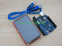 Arduino UNO R3 с +3.95 inch TFT LCD Touch Screen+ USB Cable