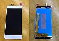 Дисплей для Lenovo S60 + touchscreen, белый