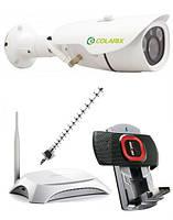 КОМПЛЕКТ IP видеонаблюдения COLARIX ПЕРИМЕТР 3G +