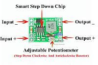 Стабилизатор Your Cee; DC-DC понижающий преобразователь 4.5 - 28V;
