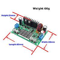 Стабилизатор постоянного тока DP30V5Al; понижающий; 5A; DC 0V-32V; LED