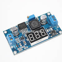 Стабилизатор постоянного тока LM2596S + вольтметр;